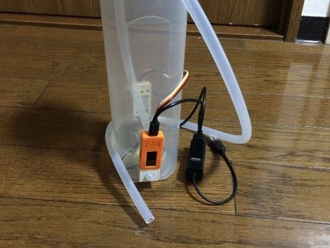 Portable Automatic Faucets Using M5StickC for COVID-19