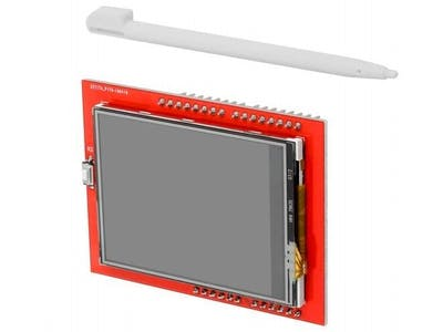 2. 4 TFT LCD Touch Display Road Test