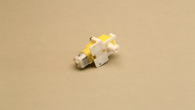 Fig. I - General view of LEGO technic compatible gear motor
