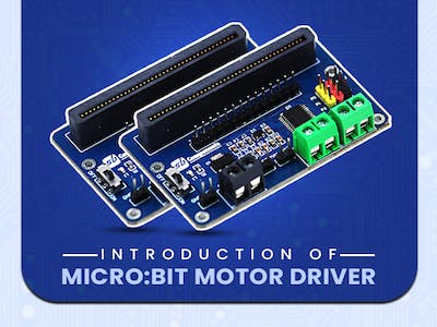 SB Components Motor Driver for Micro:bit