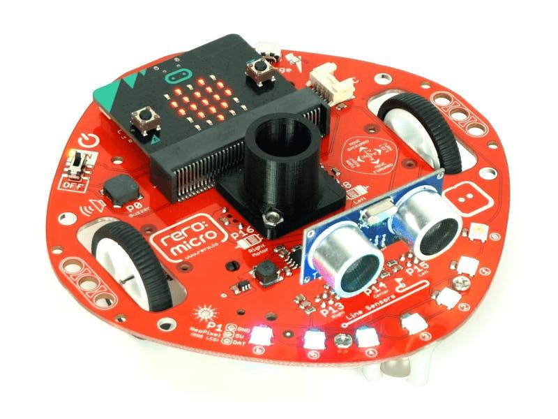 Program micro:bit mobile robot with Python | 1 Colour Splash