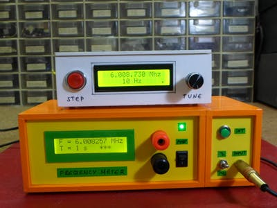 DIY Simple Frequency Meter Up to 6.5MHz