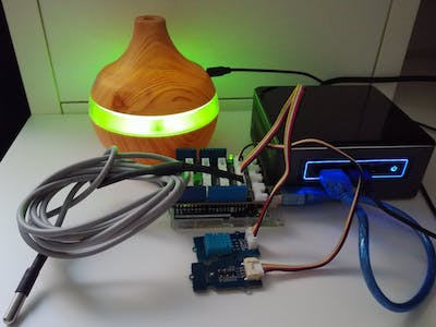 Arduino-Based Determination of an Air Humidifier Efficiency