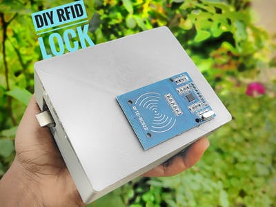DIY RFID DOOR LOCK System