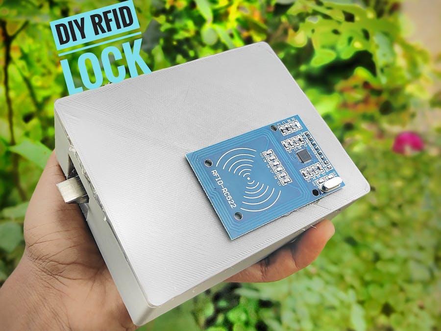 DIY RFID DOOR LOCK System