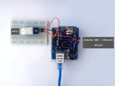 Display Sensor Data with an Ethernet's Arduino Web Server