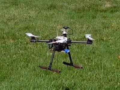 NXP HoverGames Challenge 2 - P2P Drone Service