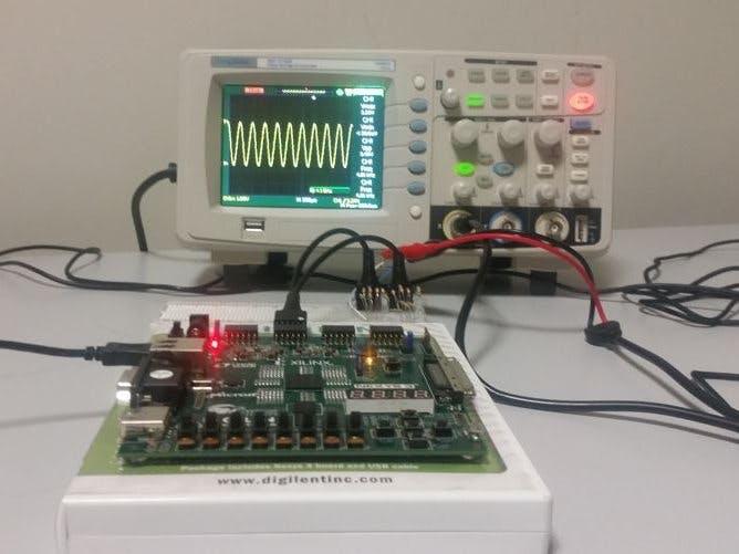 Software Defined Radio on FPGA from Digilent Design Contest