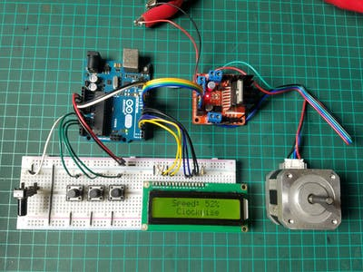 Stepper Motor Speed Controller
