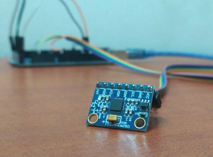 MPU-6050 (Accelerometer+Gyro) sensor module