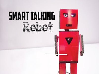 Easy Talking Humanoid Robot!