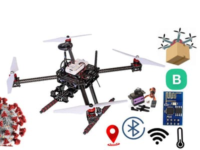 Build Smart Drone For Pandemic Time