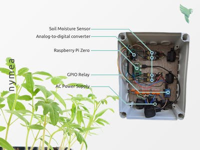 Smart gardening without coding - all free and open source