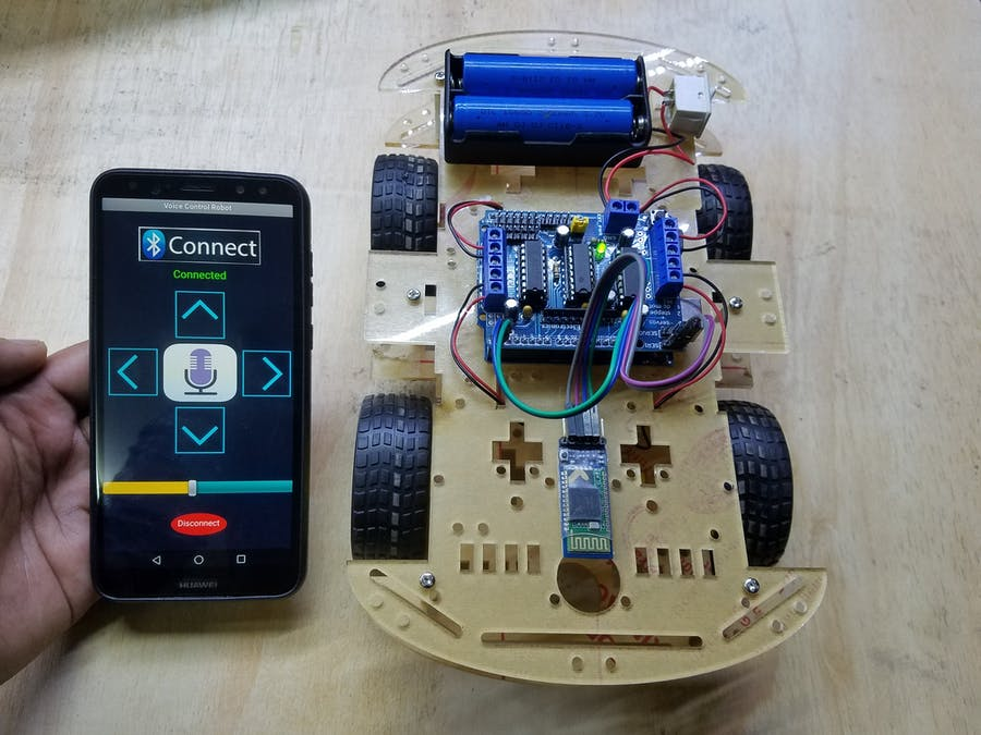 Voice Control Robot