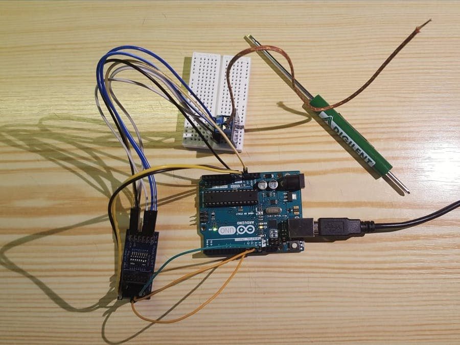 Using the Pmod TC1 with Arduino Uno