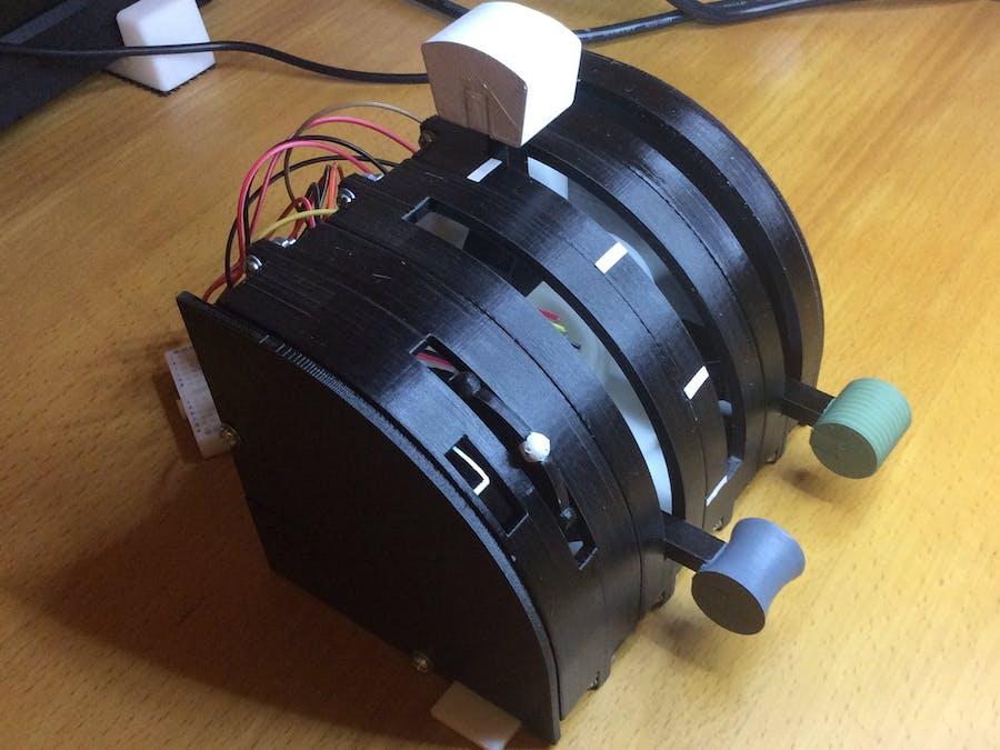 Throttle Quadrant and Trim Wheel
