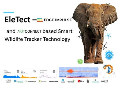 EleTect - TinyML and IoT Based Smart Wildlife Tracker