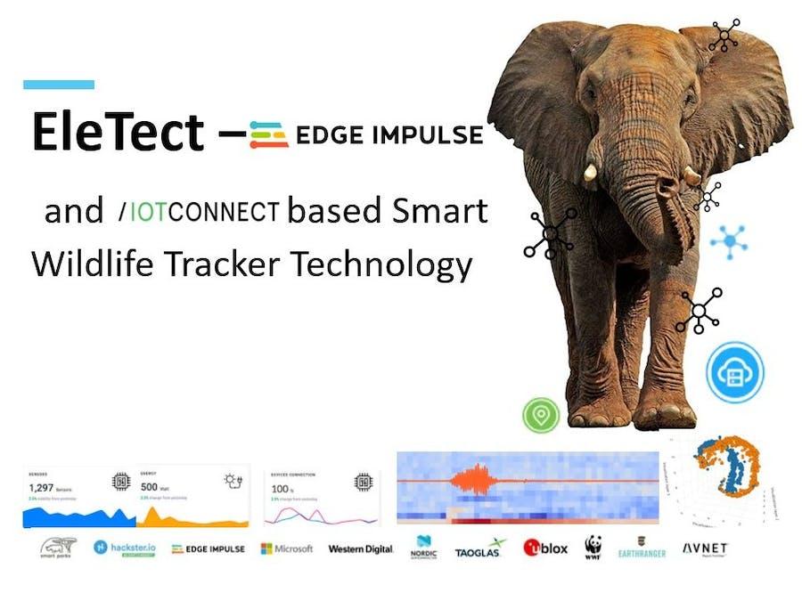EleTect - TinyML and IoT Based Smart Wildlife Tracker