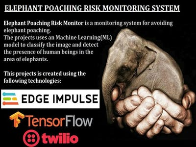 Elephant Poaching Risk Monitoring System