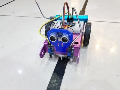 Line Follower And Obstacle Avoiding Robot