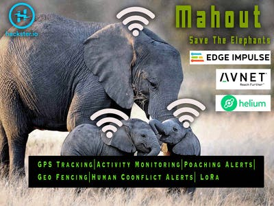 Mahout - Save The Elephants