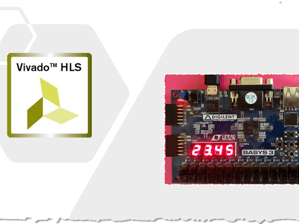 Floating-Point Numbers on 7-Segment Display inHLS
