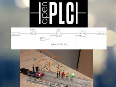 Using PLC Languages to Control an Arduino with OpenPLC