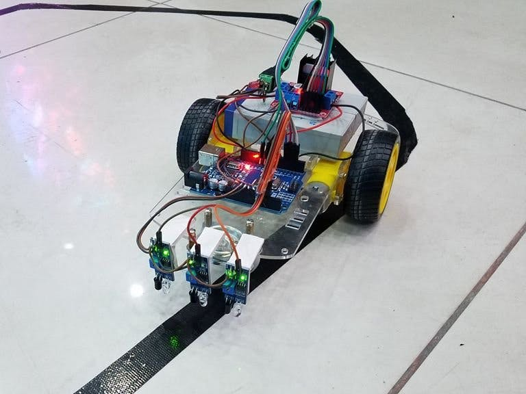 Line Follower Robot