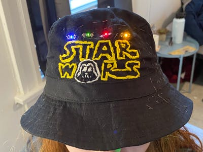 Star Wars Music and Lights Hat