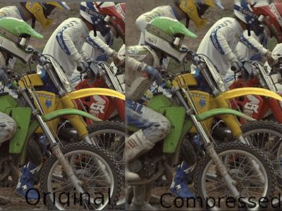 Image compression in FPGAs using Xilinx DPUs