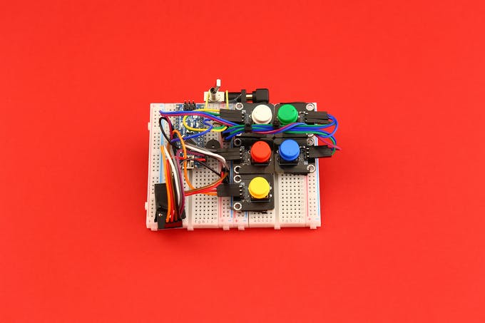 Fig. G – Tangible coding console