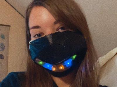 Smile LED Face Mask
