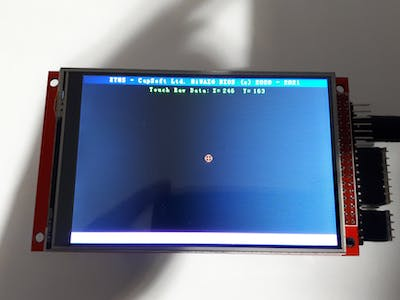 Arduino Due with 480x320 TFT with Touch