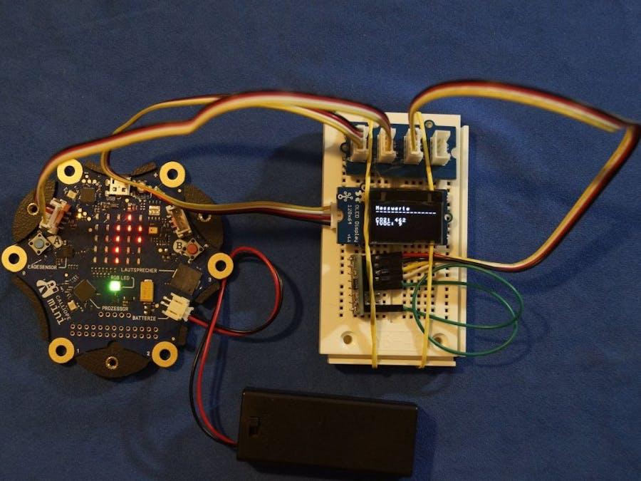 CO2-Ampel mit Calliope und CCS811-Sensor