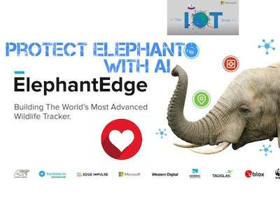 Protect Elephants with the AI ElephantEdge !!