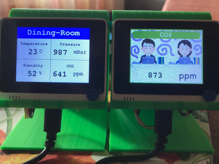 CO2 monitoring with WioTerminal