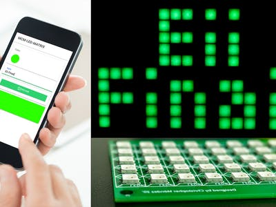 DIY Internet Controlled Smart LED Matrix