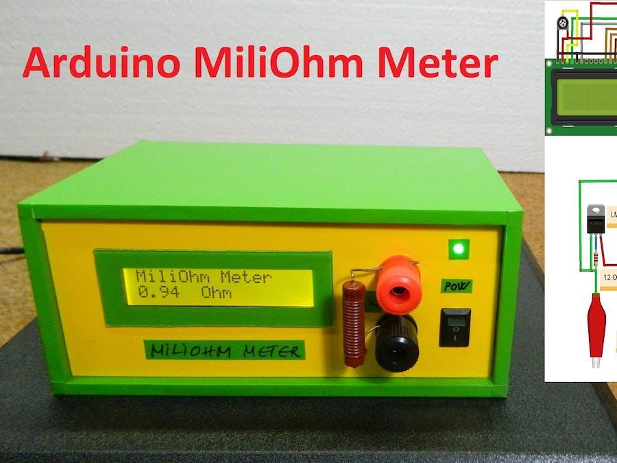 DIY Miliohmmeter for Measure Low Value Resistances