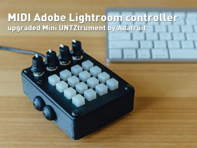 MIDI Adobe Lightroom Controller