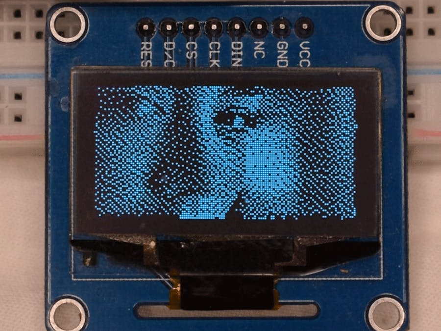 30 FPS Video on SSD1106 OLED Display