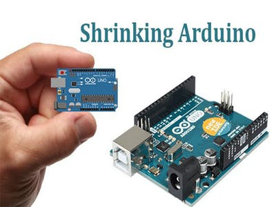 Shrinking Arduino with ATTINY13 # 01 : Wiring For Programmin