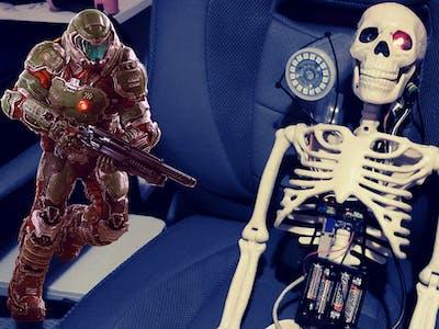 DOOM Revenant InspiredCyber-Skeleton