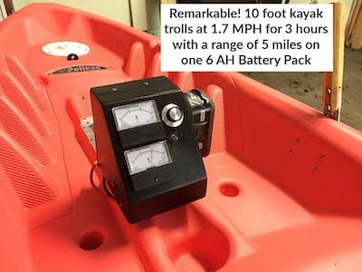 An Electric Kayak
