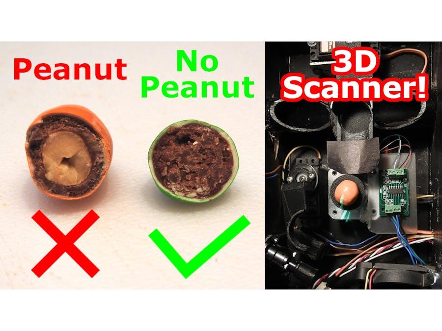 Peanut(less) Peanut M&M Sorter - Homemade 3D Scanner