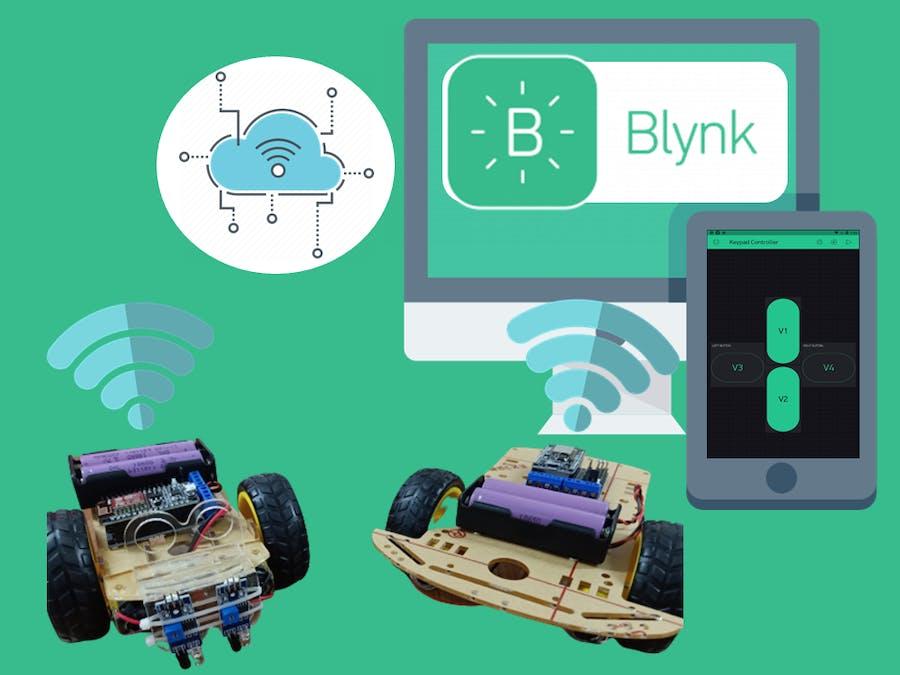 Internet of Things Robot for Beginner