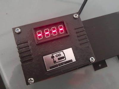 Wrist temperature control - Covid protocols