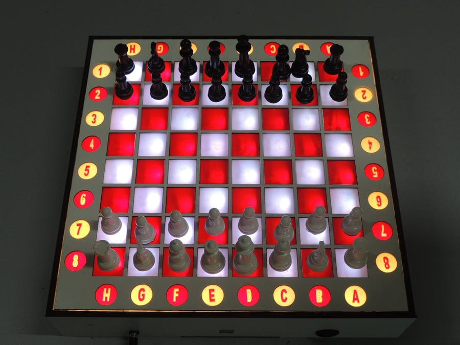Smart Chessboard - Reed Switch System