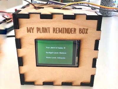 Plant Reminder Box