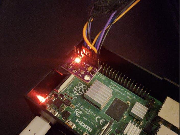Environmental sensor API with a RPi