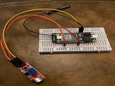 Lane Tech HS - Monitoring sound with Big Sound Sensor